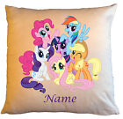 """Personalised Cushions 14"""" or 18"""" - My Little Pony - Named - Style 4"""