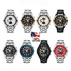 Curren Executive Stainless Steel Mens Quartz Watch - Waterproof  image