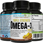 Triple Strength Fish Oil Omega 3, Liquid Softgels, Burpless, Non-GMO