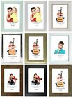 Photo Frames, 6 x 4, Pack of 3, Standard Photo Size, Freestanding and Mountable
