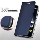 For MOTO Z2/M/C/G5S/G5 Plus Luxury Slim Leather Flip Wallet Magnetic Case Cover