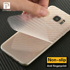 New 3D Carbon Fiber Skins Protective Sticker For Samsung Galaxy C9 Pro