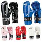 Blitz Sports Dipped Foam Tag Gloves Karate Taekwondo - Red Black Blue Pink