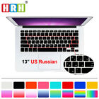 Russian Silicone US Keyboard Cover Skin For Old Macbook Pro Air Retian 13 15 17
