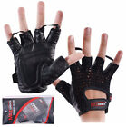 Mesh Weight Lifting Gloves Training Gym Exercise Fitness Body Building Cycling