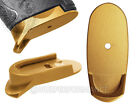 nipple shield images - for SHIELD S&W Grip Extension Mag Plate L 9 40 Gold Pick Lasered Image