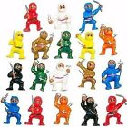 Mini Karate Ninjas Warriors Fighters Figures Cake Toppers Ninja Kung Fu Men Lot