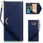 Luxury Women Lady Leather Envelope Wallet Case For Samsung Galaxy Note 8 S8 Plus