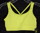 Girls Old Navy Active Sports Bra Dance Top Wicking YELLOW S M L 6 7 8 10 12 ~NWT