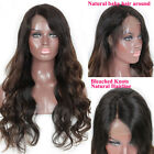 Brazilian Full Lace Human Hair Wigs with Baby Hair Glueless Wigs for Black Women