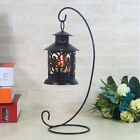 Single Iron Glass Ball Lantern Hanging Candlestick Candle Stand Candle holder
