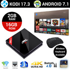 H96 TV BOX Android 7.1 Octa Core 4K Smart Media Player KODI 17.3 S912 2GB 16GB