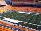 (3) Steelers vs Browns Tickets 10 Yard Line Upper Level Under Cover!!