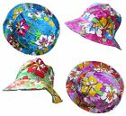 Bright Summer Bucket Hat Flowers Colourful Festival Summer Floral Men Women