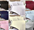 400 THREAD COUNT LUXURY 100% EGYPTIAN COTTON FITTED BED SHEETS, WHITE, NAVY BLUE