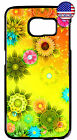 Sunflowers Colorful Slim Hard Rubber Case Cover For Galaxy S8 Plus S7 Edge S6 S5