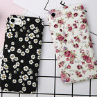For Apple iPhone 6 7 8 Plus Ultra Thin Floral Pattern Hard Matte Back Case Cover