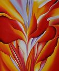 Masterpiece of American Natural Modernism: Red Canna by Georgia O'Keefe