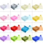 20x30cm ORGANZA Gift Bags Premium Jewellery Pouches Favour Packing Wedding Party