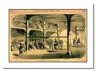 Bicycle Tournament at Liverpool 1869 Vintage Cycling Retro Print Advert Poster