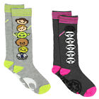 Tsum Tsum Star Wars Girls Womens 2 pack Knee High Socks Set SV002GSB $9.88 USD on eBay