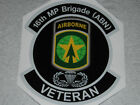 High quality U.S Army Airborne and  Infantry Units 4.5 inch Veterans Sticke