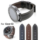 Leather Watch Strap Band for Samsung Gear S3 Classic Frontier + Screen Protector
