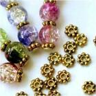 Lots 1000x Gold Plated Daisy Flower Spacer Beads Jewellery Findings 4/6mm