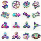Anti Stress Fidget Spinner Colorful Metal Hand Spinner EDC Fingertip Gyro 2017