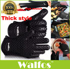 food grade Heat Resistant thick Silicone Kitchen glove oven 1 PCS BBQ Grill