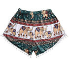 1PCS Fashion Women Elephant Pants Summer Casual High Waist Beach Short Pants