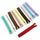 10X Closed End Metal Nylon Zipper Zip For Bag Pouch DIY Tailor Sewing Tools