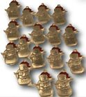 Hallmark Metal Snowman Ornament Red Hat Girls Boys Name Blank Special People