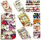 NEW VINTAGE Flip Beach FLOWER FLORAL Magnetic CASE COVER FOR iPHONE 4/4S/5/5S/SE