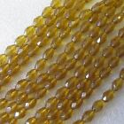 5 Strings Teardrop Faceted Glass Beads Crystal 10 x 5 mm Craft Jewellery Making