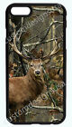 HUNTING CAMO DEER BUCK CAMO PHONE CASE COVER FOR IPHONE X 8 7 6S 6 PLUS 5S 5C 4S