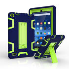 For Amazon Kindle Fire 7 5th Gen Shockproof Anti Dust Rubber Kickstand Hard Case