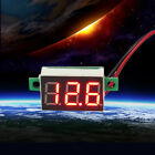 Car LED 12-24V Battery Monitor Digital Display Voltage Meter Thermometer CI