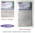 URMA Cooker Hood Filters Kit 2 Grease 60cm or wider 90cm choice >