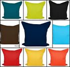 """Plain Dyed Cushion Covers - Size 18""""x 18"""" - BEST QUALITY 100% Cotton"""