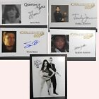 JAMES BOND - AUTOGRAPHED TRADING CARDS - VOLUME 29, WITH COA & MYSTERY GIFT $5.5 USD