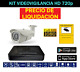 KIT VIDEO VIGILANCIA 2 CAMARAS HD BULLET WB3620S
