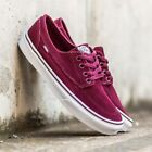 VANS Brigata (Suede) Port Royale Shoes Suede Sneakers Scarpe Bordeaux Pelle