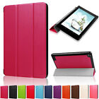 Smart Folio Magnetic Leather Stand Case Cover For Amazon Kindle New Fire 7 2017