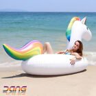 Inflatable Giant Swim Pool Floats Raft Swimming Fun Water Sports Beach Toy UK