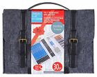 Felt Travel Messenger Bag with Art Kit / Set by Artist's Loft