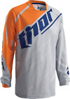 THOR Racing phase VENTED ORANGE GREY Jersey motocross off road adult mens KTM