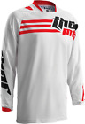 THOR Racing phase STRANDS Red White Jersey motocross off road adult mens Honda
