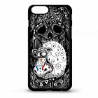 Sheep lamb sugar skull tattoo gothic day of the dead pattern phone case cover
