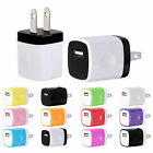 1A USB Wall Charger Plug Lodgings Power Adapter For iPhone 5 6 7 Samsung Android LG